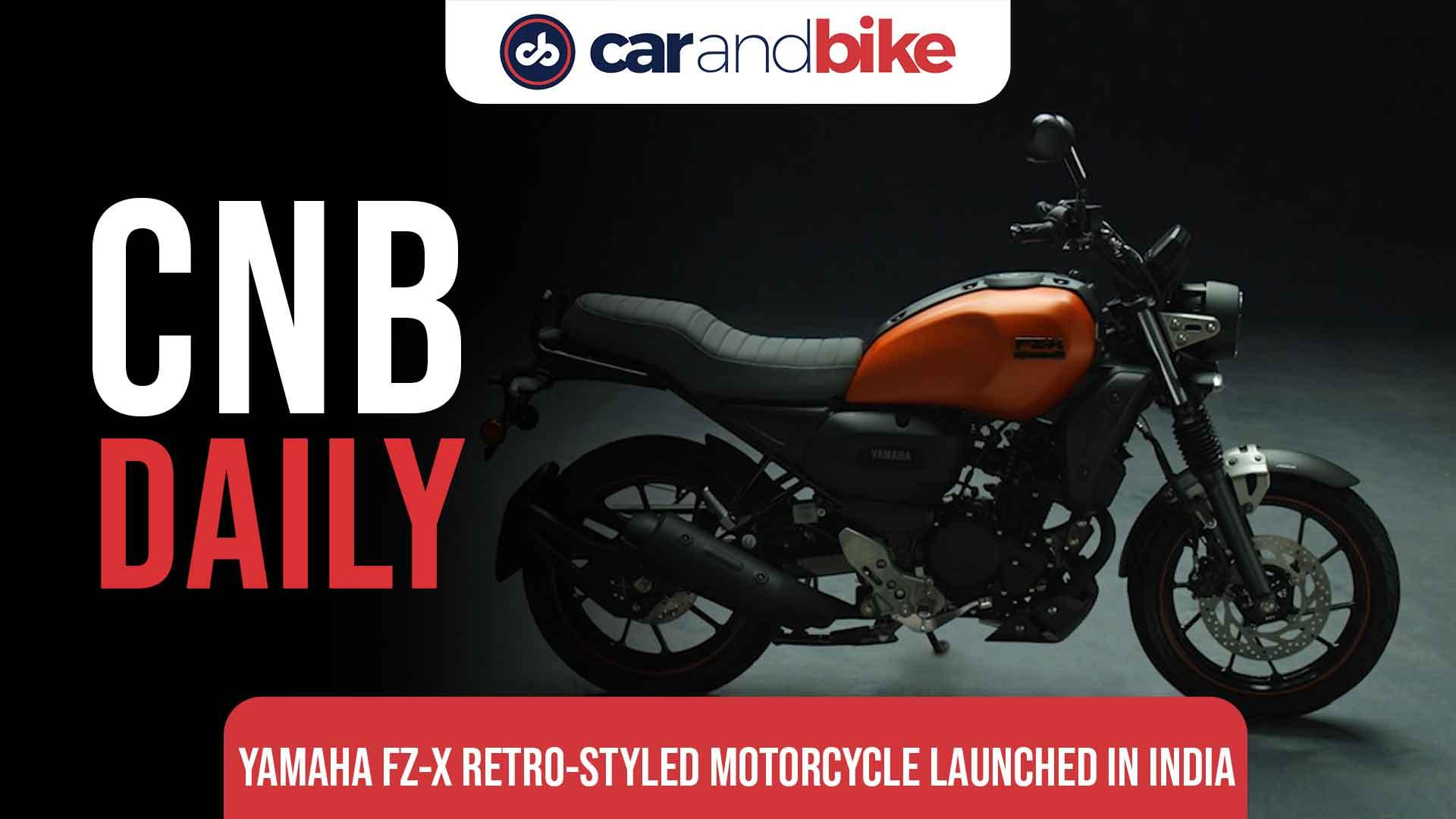Yamaha FZ-X Retro-Styled Motorcycle Launched In India