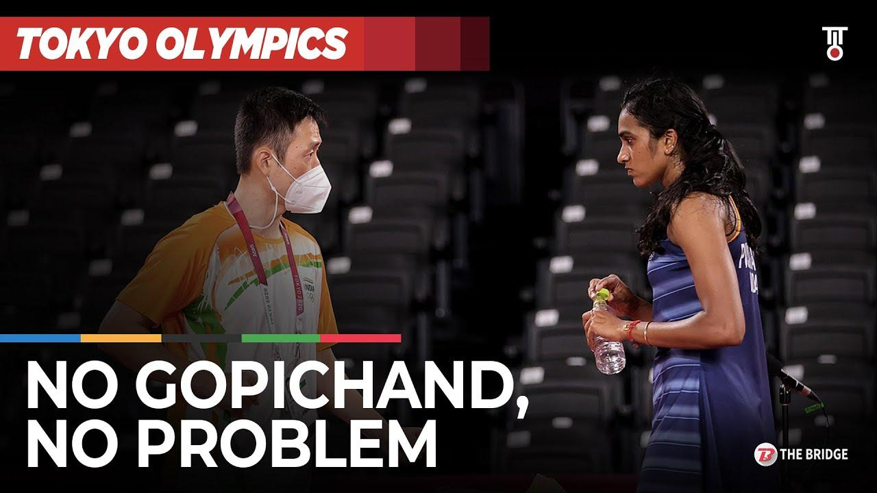 No Gopichand, no problem — How PV Sindhu has improved under new coach at Tokyo Olympics | The Bridge