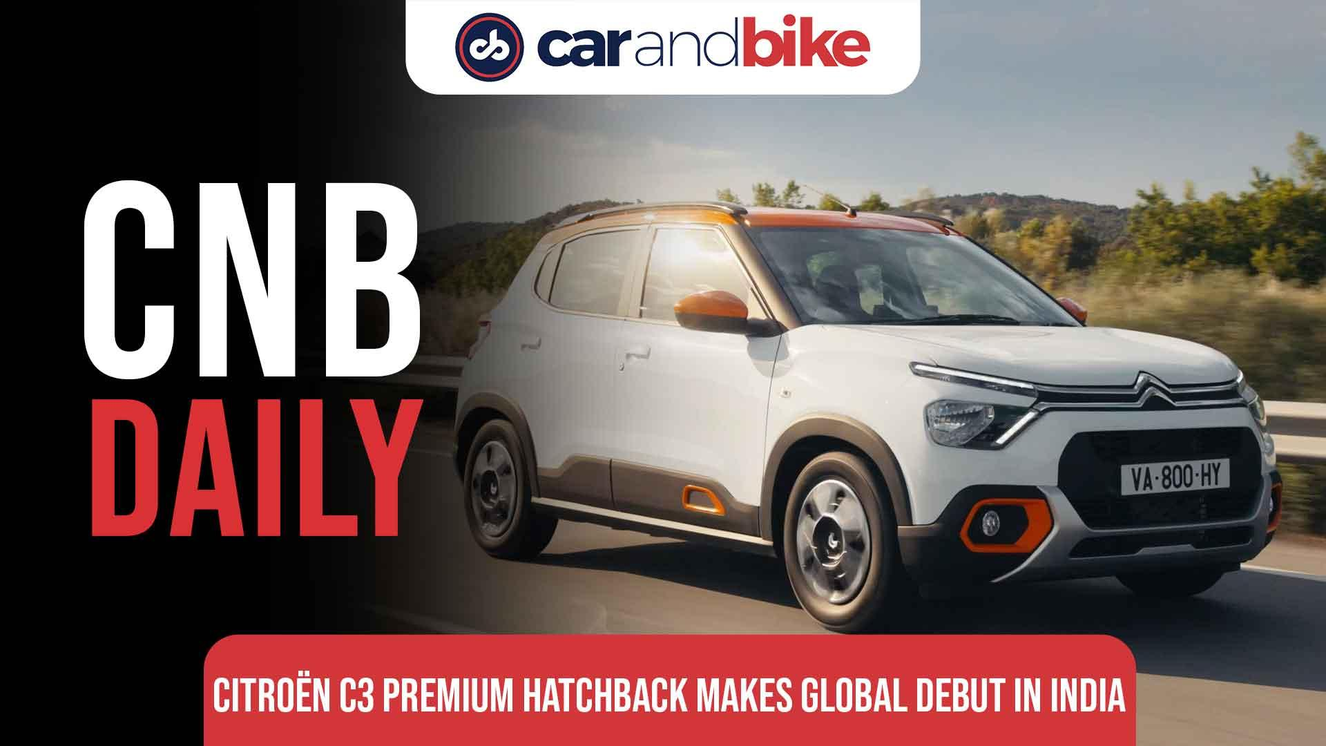Citroen C3 Premium Hatchback makes global debut in India