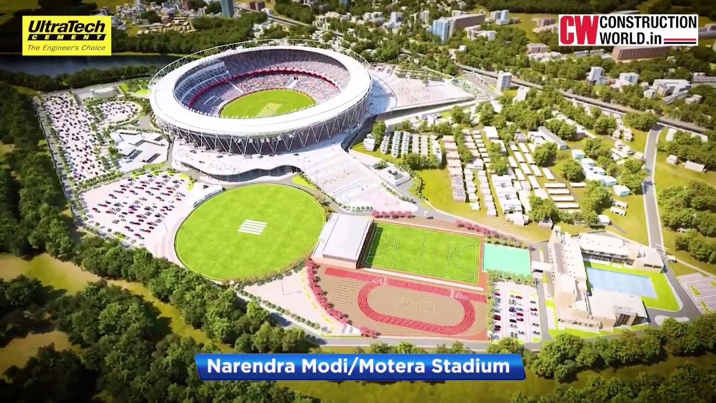 CW Projects: Narendra Modi/Motera Stadium | World's Largest Cricket Stadium