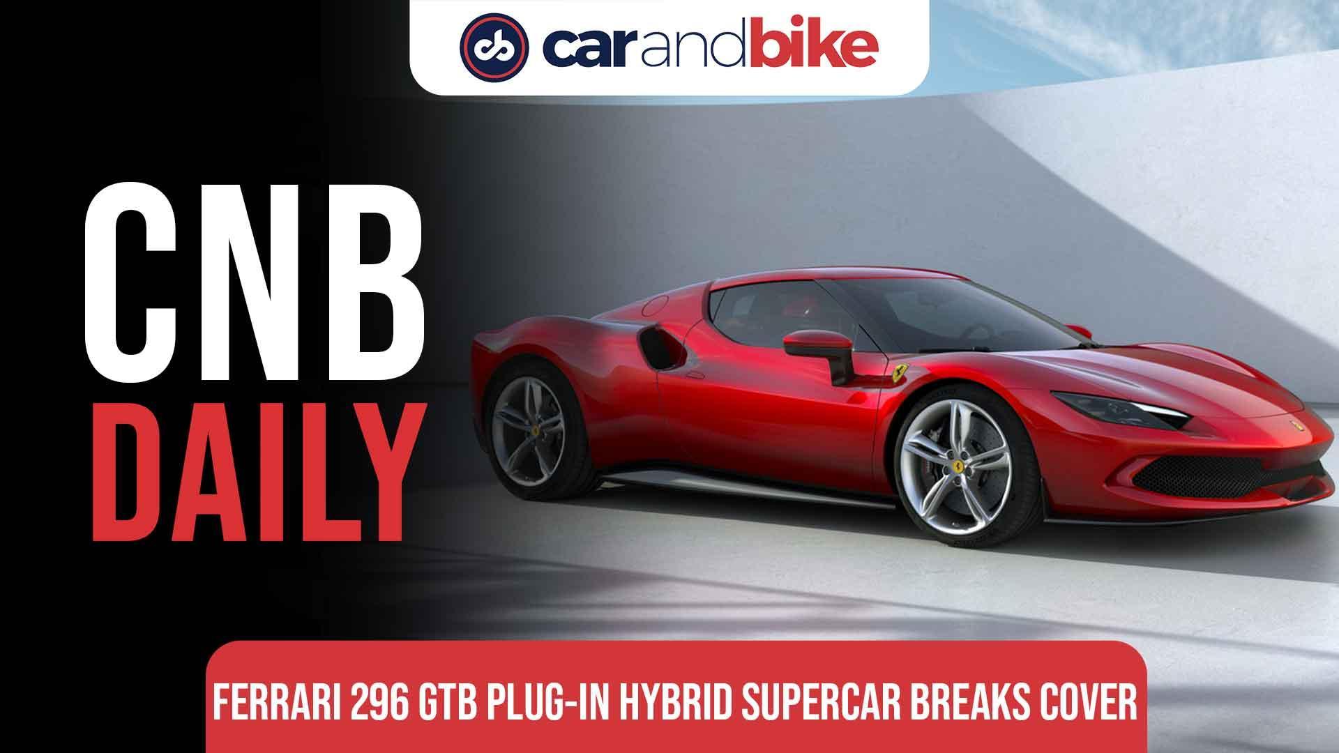 Ferrari 296 GTB Plug-In Hybrid Supercar Breaks Cover