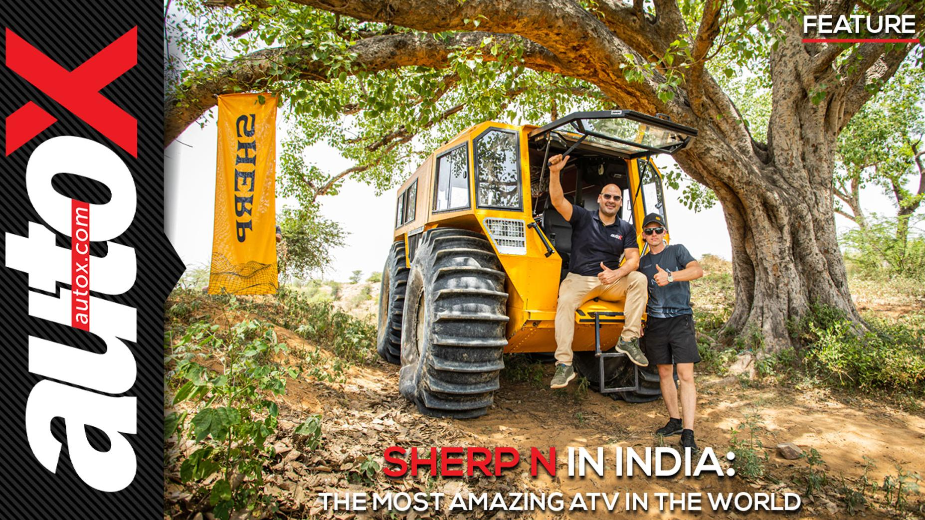 SHERP N in India: The most amazing ATV in the World | Feature | autoX