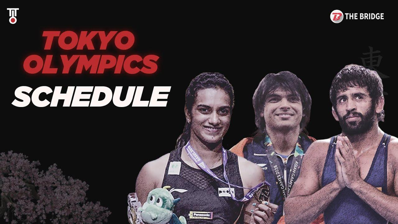 How and when to follow India's medals at Tokyo Olympics | India Full Olympic Schedule | The Bridge