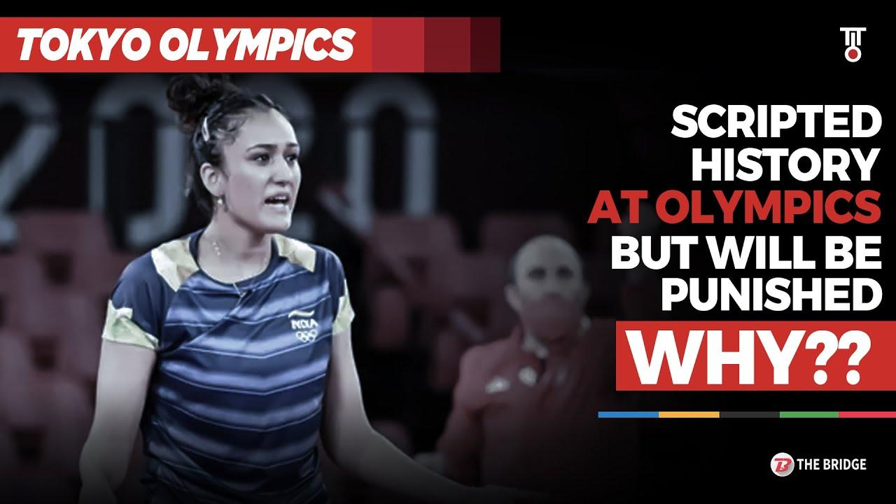 Manika Batra set to face action even after creating history for India at Olympics | The Bridge