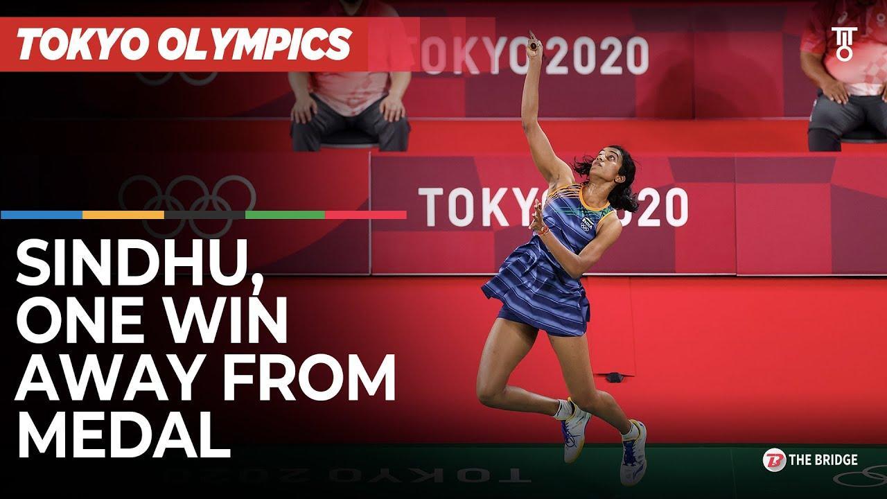 PV Sindhu beats Yamaguchi, storms into semifinal at Tokyo Olympics | Highlights | The Bridge