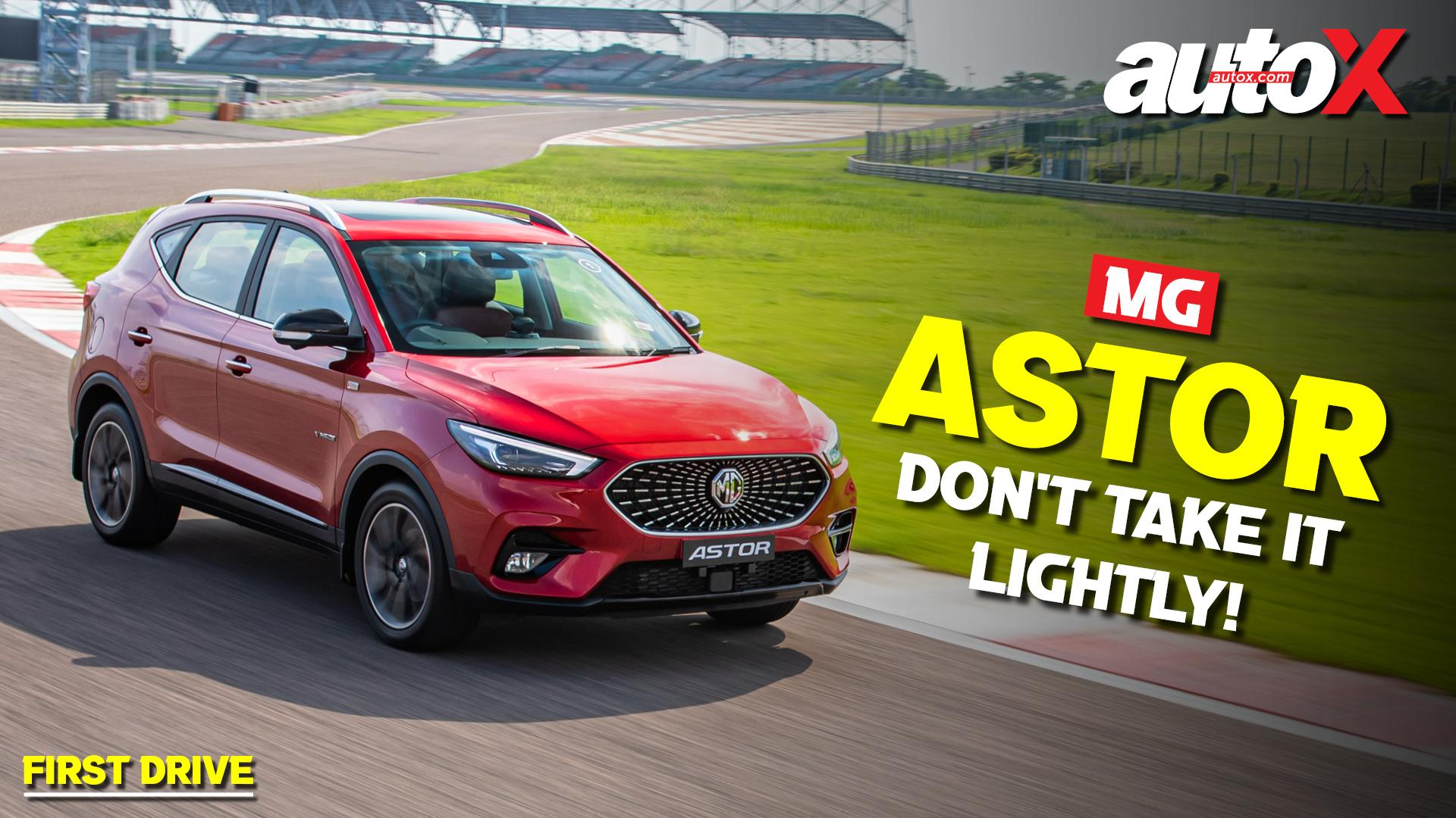 MG Astor Review: The Dark Horse in the running | autoX