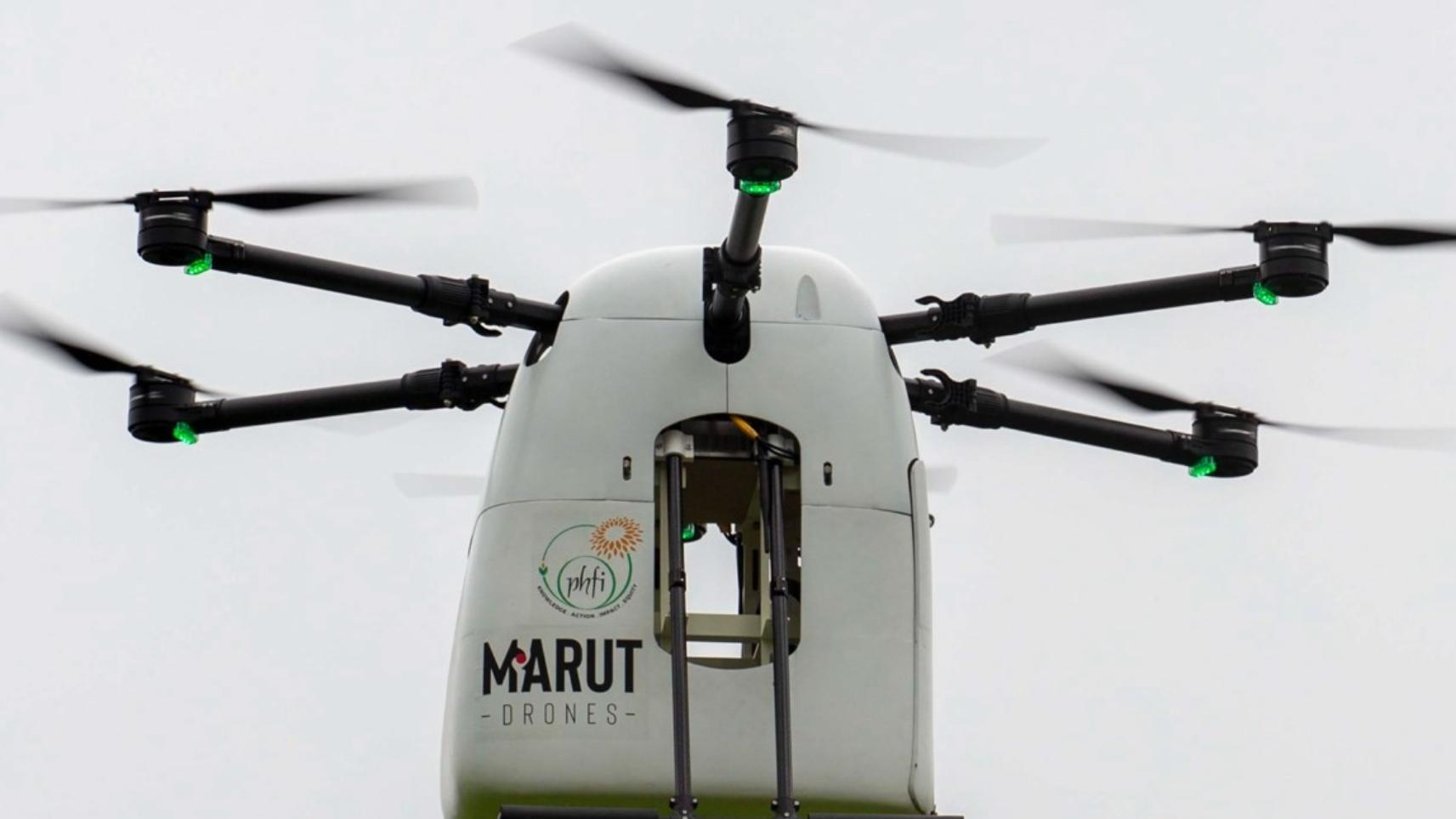 Drone-delivery of drugs and vaccines begins in Telangana
