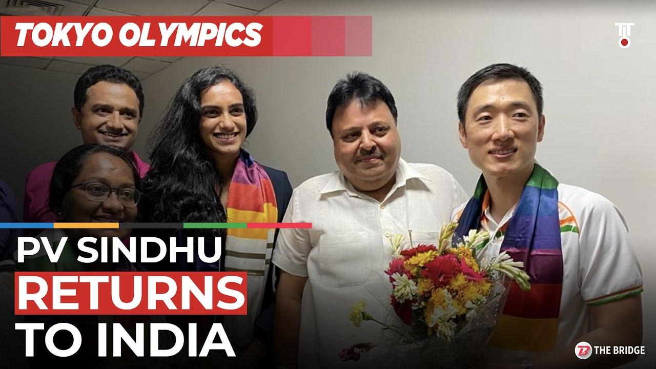 Tokyo Olympics bronze medallist PV Sindhu receives warm welcome on return to India | The Bridge
