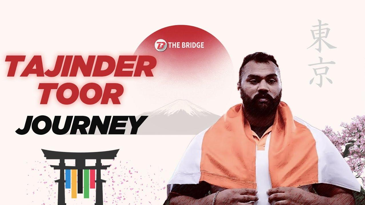 Having overcome father's death, shot putter Tajinder Toor is ready for Tokyo Olympics | The Bridge