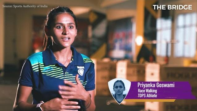 National record holder Priyanka Goswami is ready for Tokyo Olympics!   The Bridge
