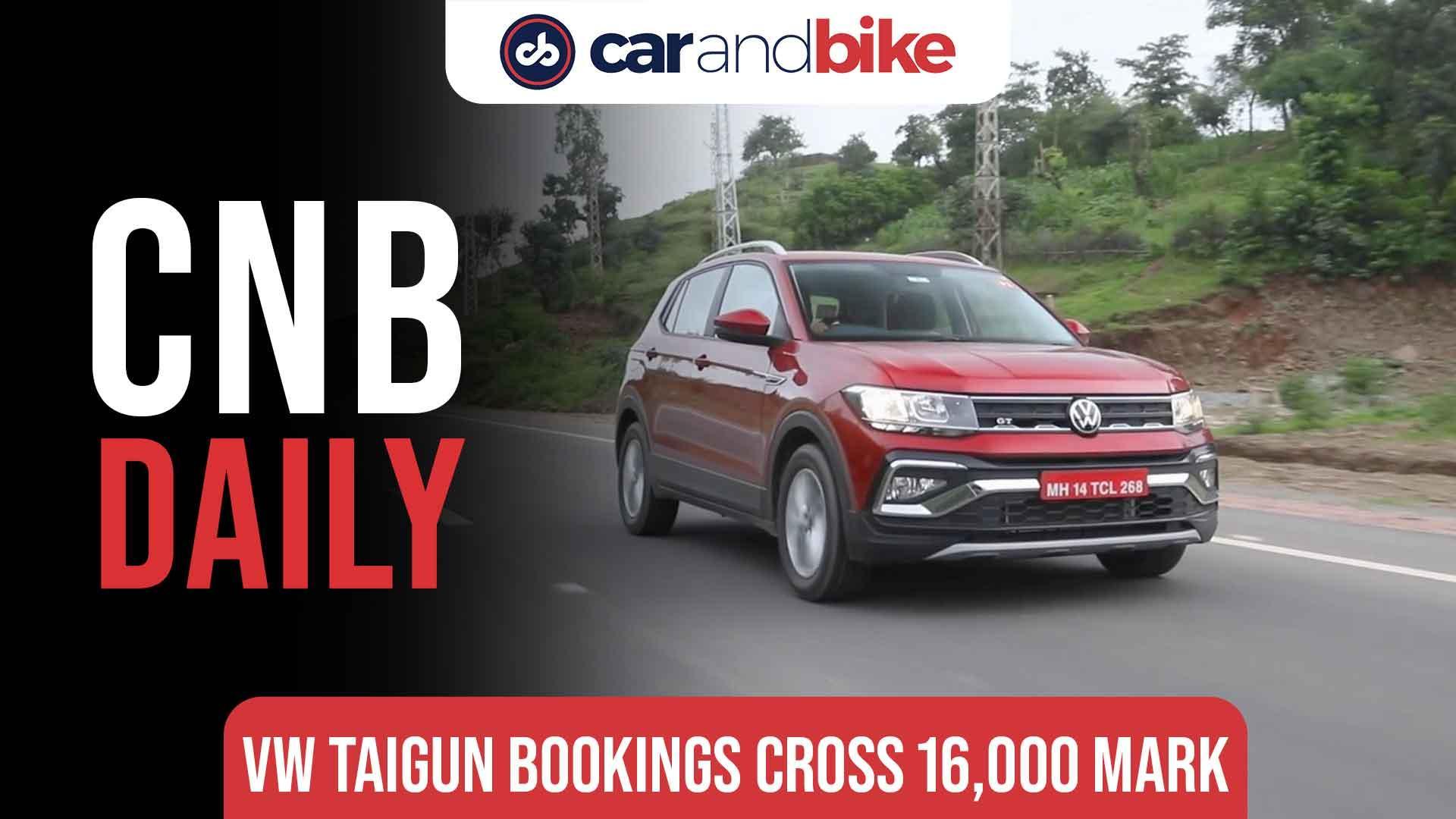 Volkswagen Taigun bookings cross 16,000 mark