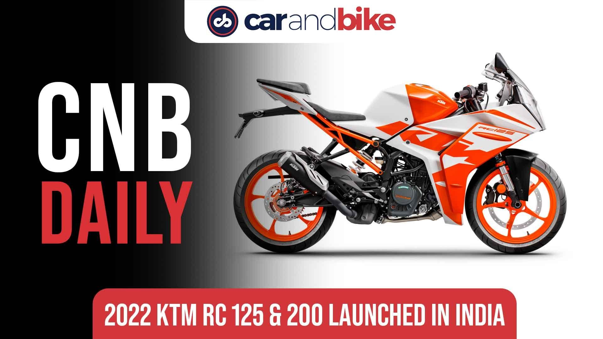 2022 KTM RC 125 & 200 Launched In India