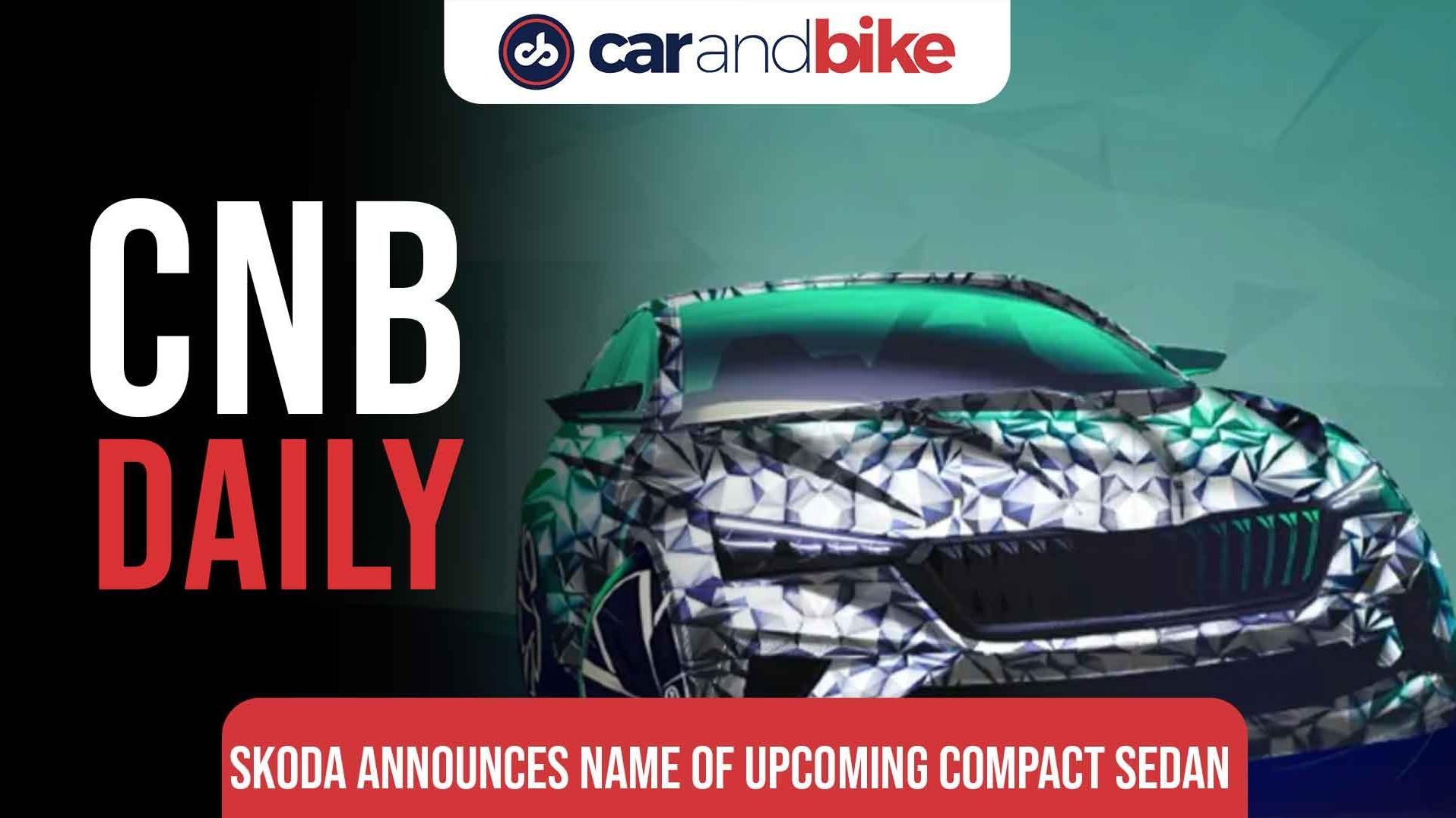 Upcoming Skoda Compact Sedan gets a name