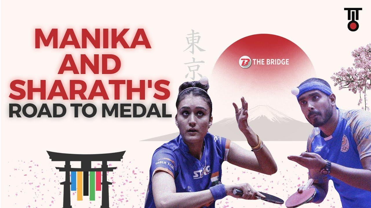 How Manika Batra and Sharath Kamal can win a historic Olympic medal | The Bridge