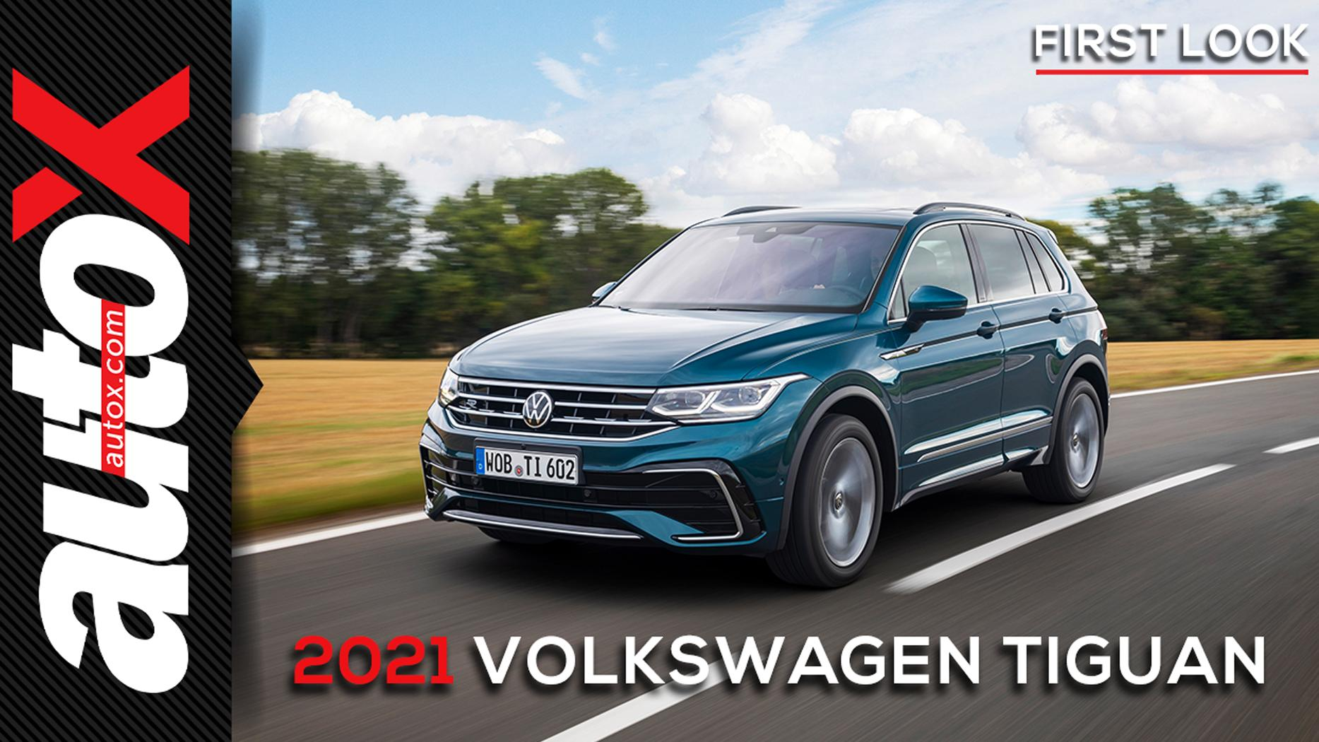 2021 VW Tiguan | First Look at VW's mid-sized SUV | autoX