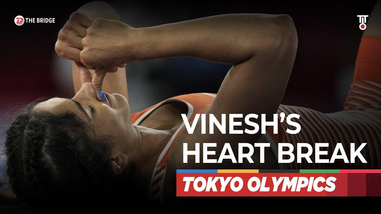 Vinesh Phogat suffers heartbreak at Tokyo Olympics, no repechage   The Bridge