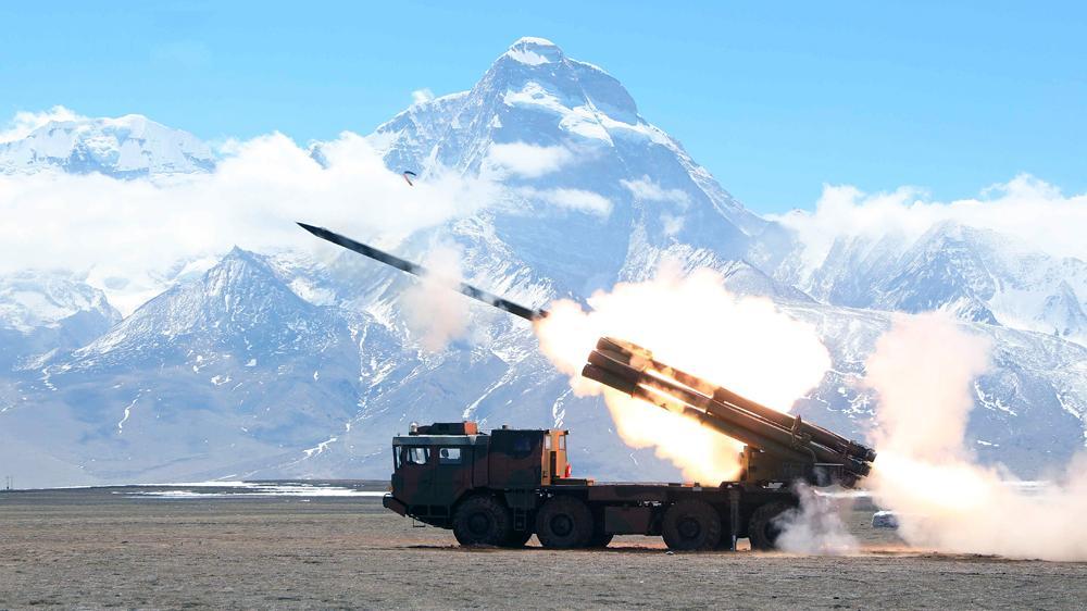 China Deploys Long Range MLRS