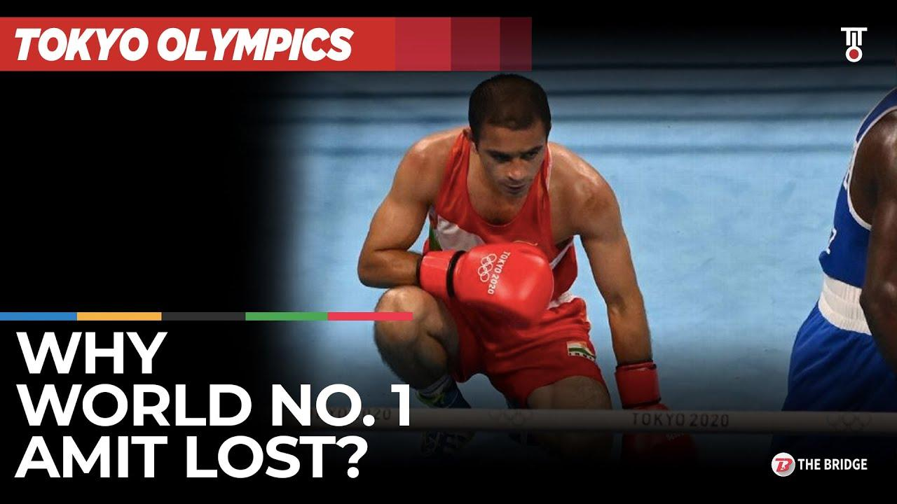 What went wrong for World No. 1 Amit Panghal at Tokyo Olympics | The Bridge