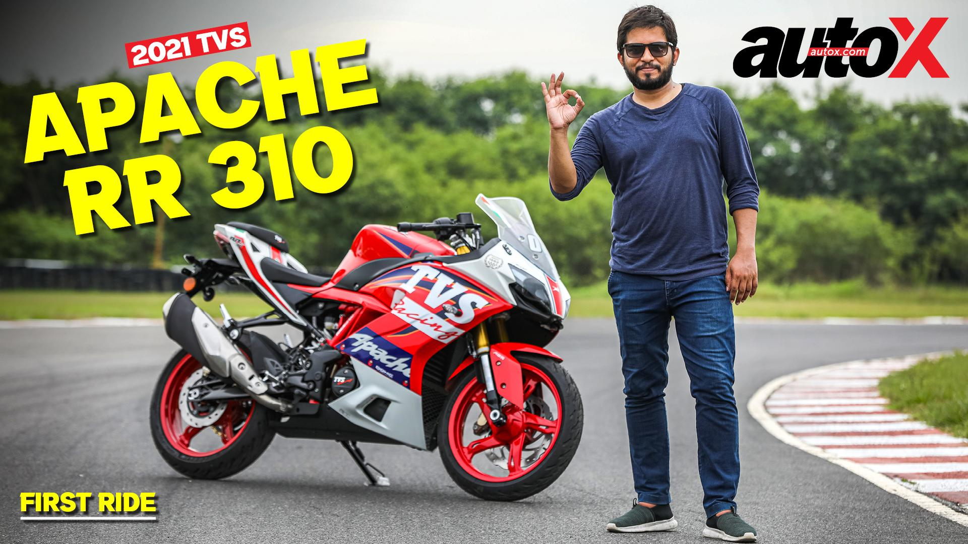 Here's why the 2021 TVS Apache RR 310 is the Best Sportsbike in India | Review | autoX