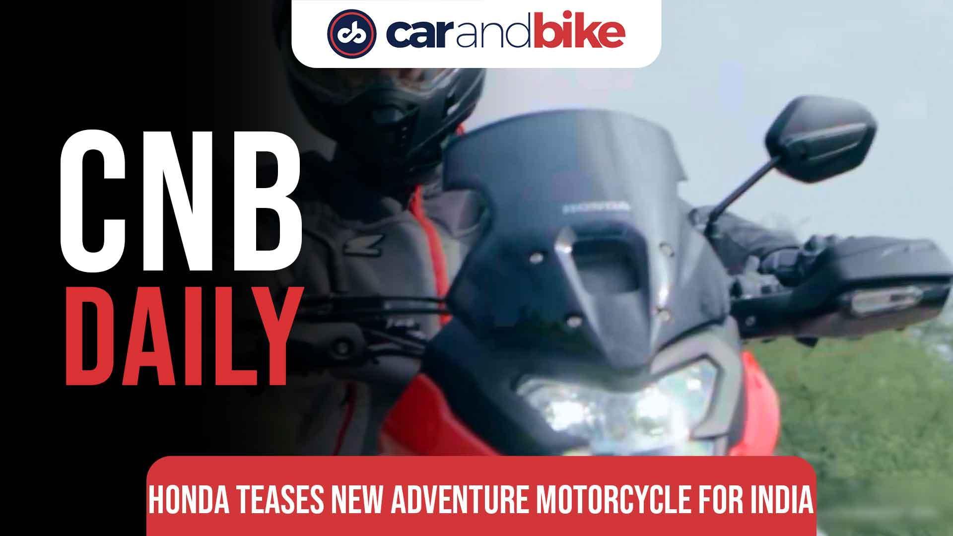 Honda Two-Wheeler Teases New Small-Capacity Adventure Motorcycle