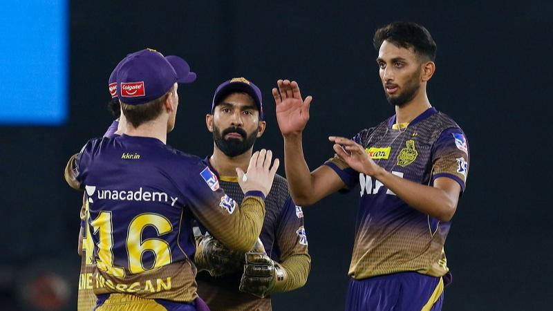 KKR end losing run, beat Punjab by 5 wickets