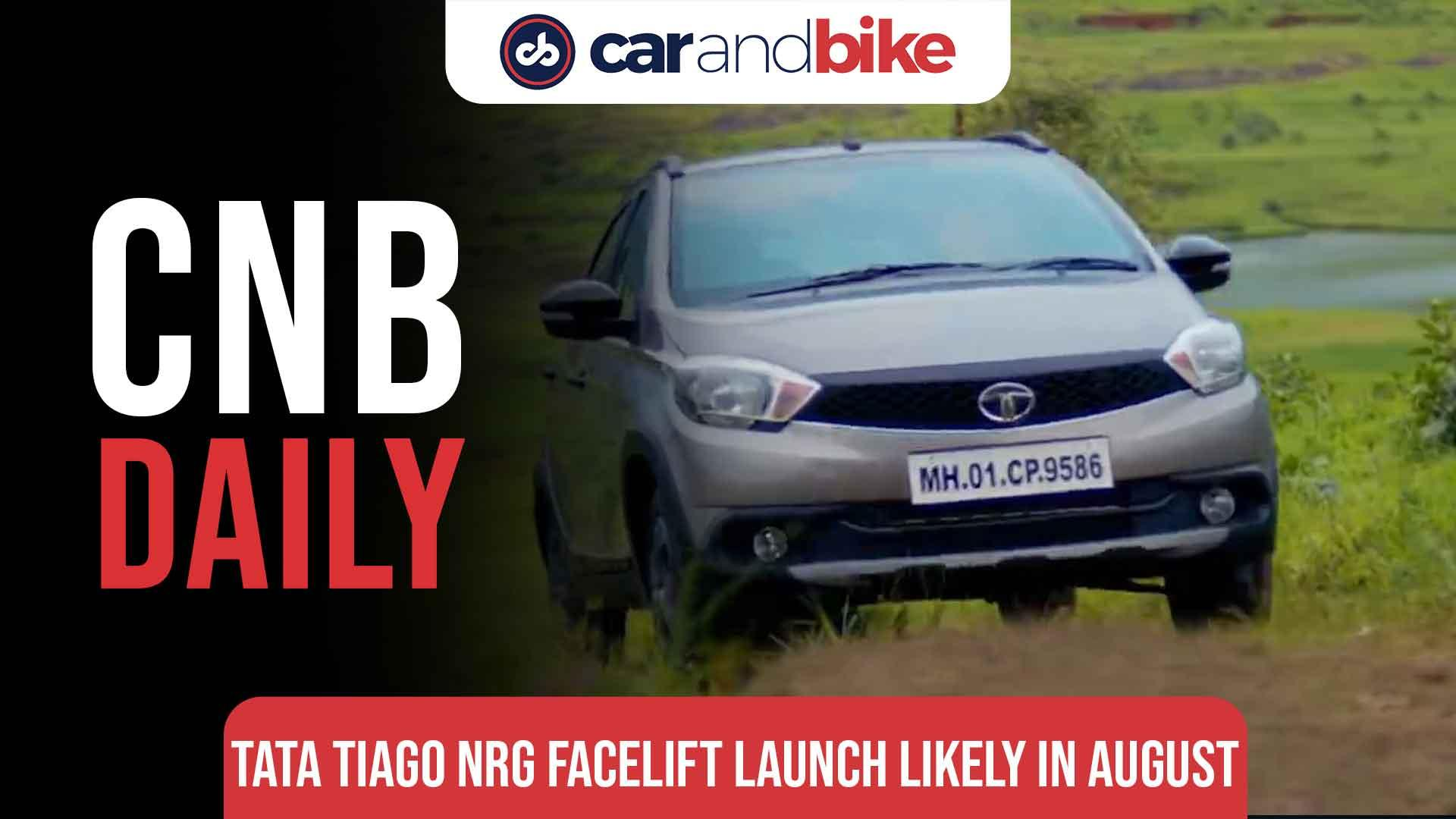 Tata Tiago NRG Facelift Launch Likely On August 4, 2021