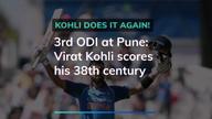 Ind vs West Indies: Virat scores 38th century