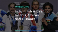 World Wrestling Championships : India finish with 2 medals