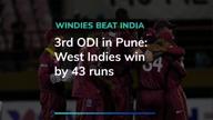 Kohli ton in vain, Windies beat India by 43 runs