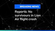Reports: No survivours in Lion Air flight crash