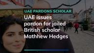 UAE pardons Briton scholar Matthew Hedges