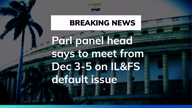 Parliamentary Panel on IL&FS default issue