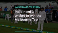 3rd Test day 4: India need 1 wicket to win