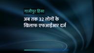 गाजीपुर हिंसा: अब तक 32 लोगों के खिलाफ एफआईआर दर्ज