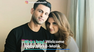 It's a boy! Welcome baby Mirza-Malik