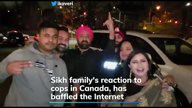Sikh family in Canada reacts to the cops in a viral video