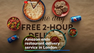 Amazon ends its restaurant delivery service in London