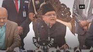 Now, J&K governor talks of 'transfer threat'