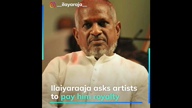 Ilaiyaraaja: Pay royalty or stop remixing my songs
