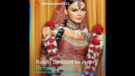 Is marriage on the cards for Rakhi Sawant?