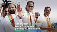 Azhar to captain team Congress in poll-bound Telangana