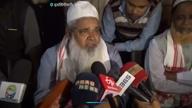 AIUDF प्रमुख बदरुद्दीन अजमल का रिपोर्टर का सर फोड़ने की धमकी
