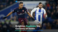Brighton frustrate the Gunners at home