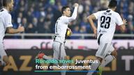 Ronaldo saves Juventus from embarrassment
