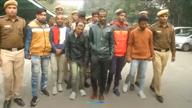 दिल्ली: चोरी करने वाले गिरोह के 8 बदमाशों को पुलिस ने पकड़ा