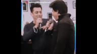 Watch! Shah Rukh Khan & Salman Khan singing