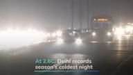 At 2.6°C, Delhi records season's coldest night