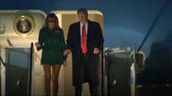 Was that a faux pas for Melania Trump?