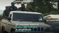 16 days on, Navy divers join in to rescue Meghalaya miners