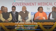 PM mocks Rahul's loan waivers: Congress 'lollipop company'